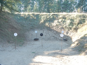 One Course Called In&Out AR500 Steel Targets